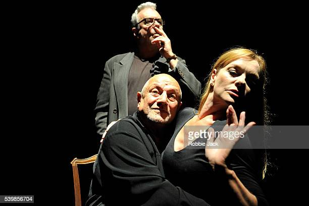 Steven BerkoffAndree Bernard and Jay Benedict in Steven Berkoff's An Actors Lament at Underbelly as part of the Edinburgh Festival Fringe