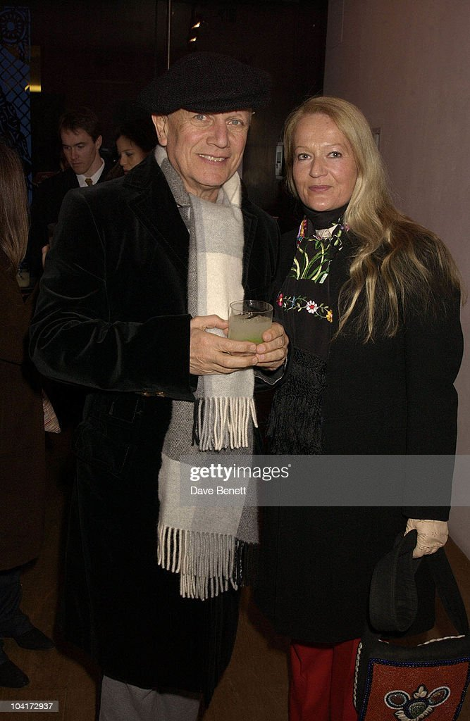 Steven Berkov And Wife, 'Frida' Premiere After Party At Haunch Of Venison, London