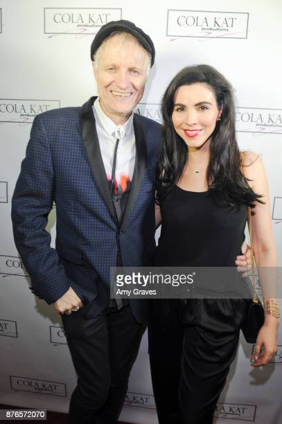 Steven Billy Bones Fortuna and Melissa Ricci attend the Who Is Billy Bones TV Premiere Event on November 19 2017 in Beverly Hills California