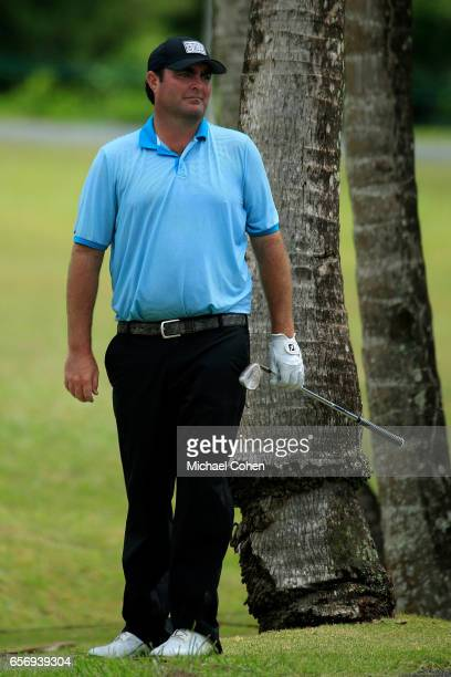 Steven Bowditch looks on from the eighth rough during the first round of the Puerto Rico Open at Coco Beach on March 23 2017 in Rio Grande Puerto Rico