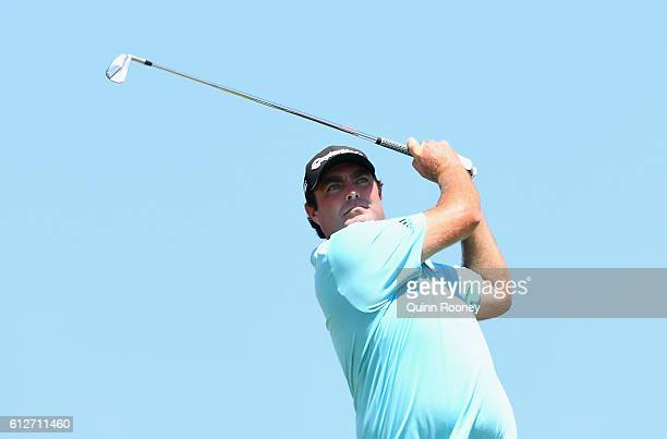 Steven Bowditch of Australia competes in the ProAm ahead of the 2016 Fiji International at Natadola Bay Golf Course on October 5 2016 in Natadola Fiji