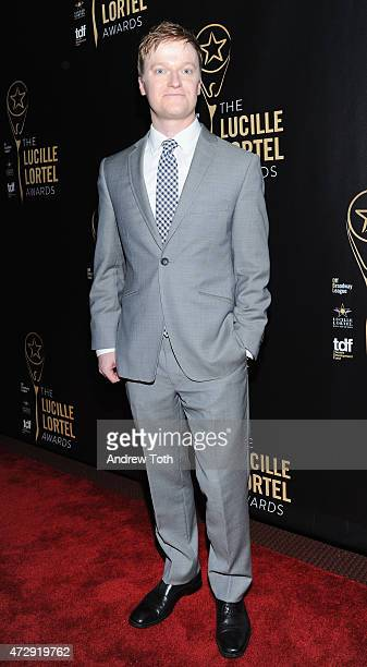 Steven Boyer attends the 30th Annual Lucille Lortel Awards at NYU Skirball Center on May 10 2015 in New York City