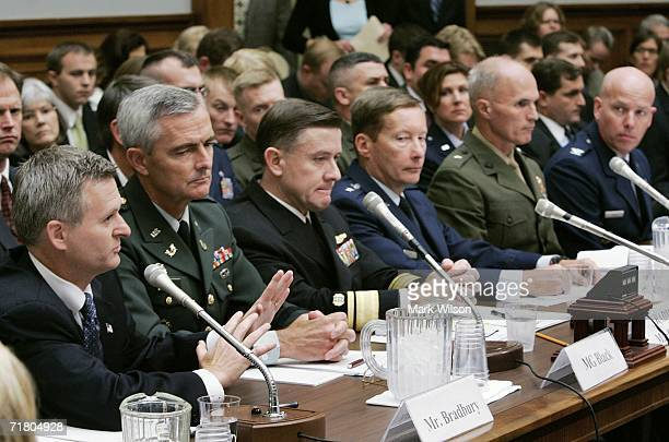 Steven Bradbury Acting Assistant Attorney General Department of Justice US Army Maj Gen Scott C Black The Judge Advocate General of the Army US Navy...