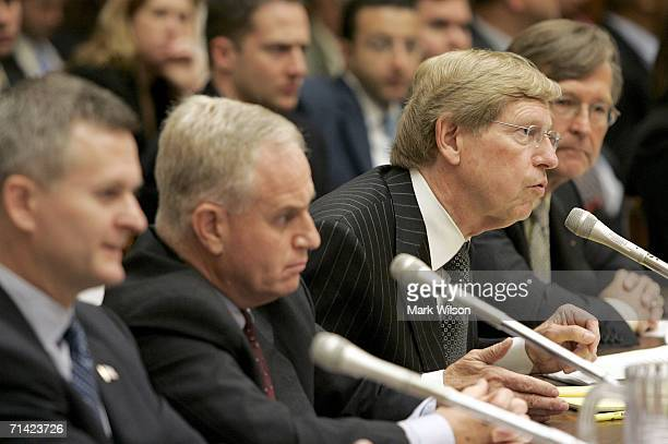 Steven Bradbury, Acting Assistant Attorney General, Office of Legal Counsel, Justice Department, Daniel Dell'Orto, Principal Deputy General Counsel,...