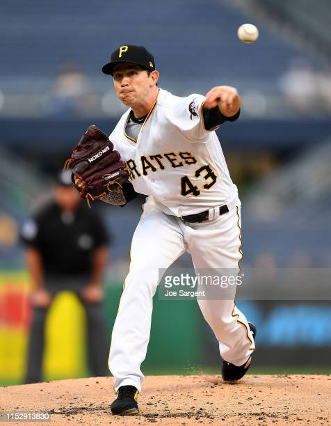 Steven Brault of the Pittsburgh Pirates in action during the game against the Texas Rangers at PNC Park on May 7, 2019 in Pittsburgh, Pennsylvania.