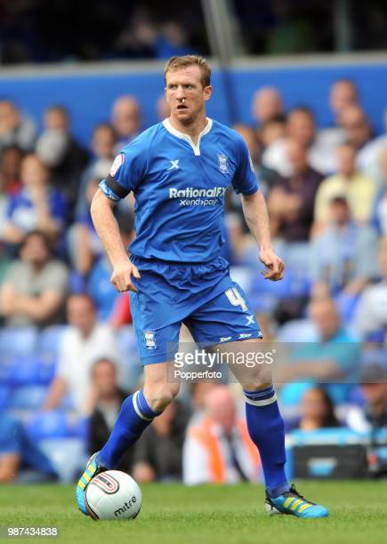 Steven Caldwell of Birmingham City in action during the Championship match between Birmingham City and Coventry City at St Andrew's in Birmingham on...