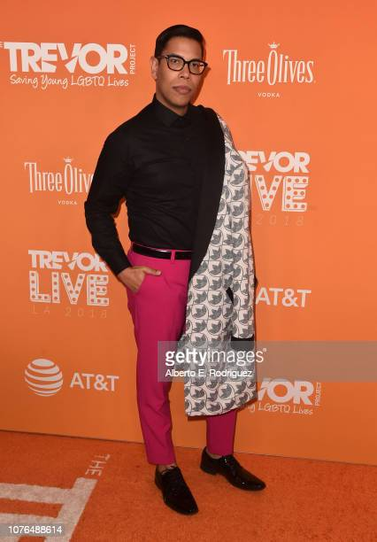 Steven Canals attends The Trevor Project's TrevorLIVE Gala at The Beverly Hilton Hotel on December 02 2018 in Beverly Hills California