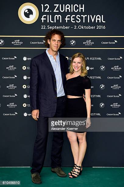 Steven Cantor and guest attend the 'Dancer' Photocall during the 12th Zurich Film Festival on September 25 2016 in Zurich Switzerland The Zurich Film...
