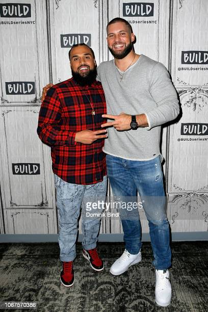 Steven Caple Jr and Florian Munteanu visit Build Series to discuss the film 'Creed ll' at Build Studio on November 14 2018 in New York City
