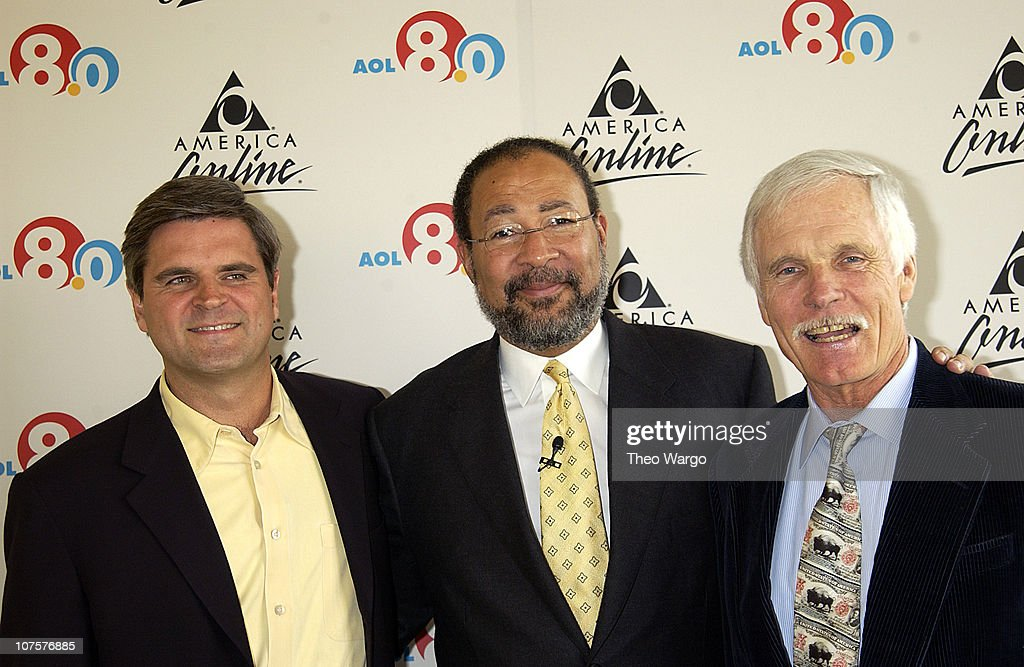 Steven Case (Chairman of AOL Time Warner), Richard Parsons (CEO, AOL Time Warner) and Ted Turner