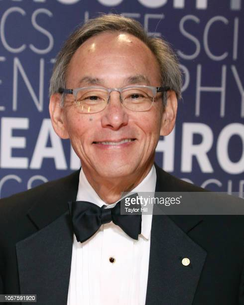 Steven Chu attends the 7th Annual Breakthrough Prize Ceremony at NASA Ames Research Center on November 4 2018 in Mountain View California