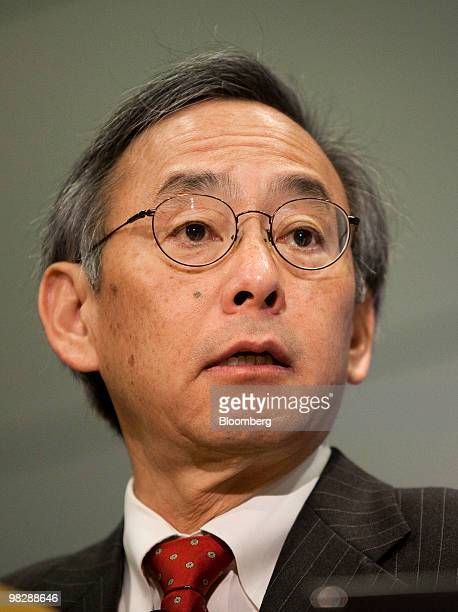 Steven Chu US secretary of energy speaks at the US Energy Information Administration 2010 Energy Conference in Washington DC US on Tuesday April 6...