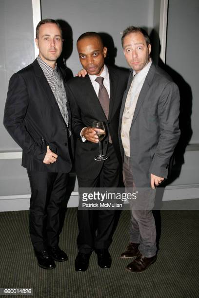 c6ac781b52 Steven Cox Ray Smith and Daniel Silver attend GQ NORDSTROM Guide to MEN S  STYLE at The