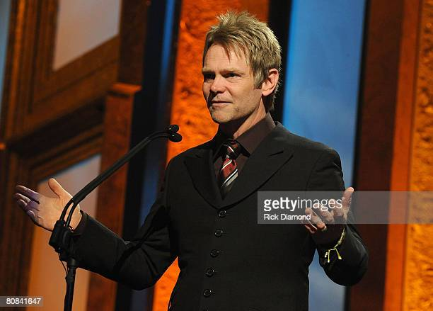 Steven Curtis Chapman during the PreTelecast at the 39th Annual GMA Dove Awards held at the Grand Ole Opry House on April 23 2008 in Nashville...