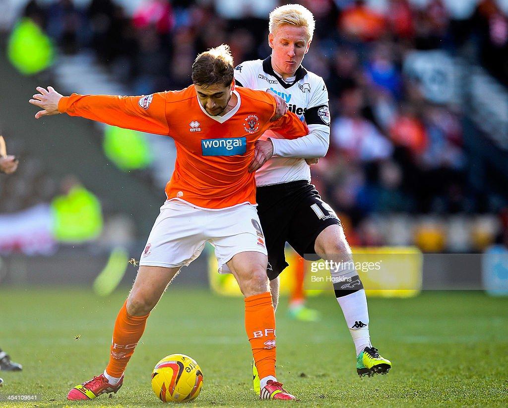 Derby County v Blackpool - Sky Bet Championship