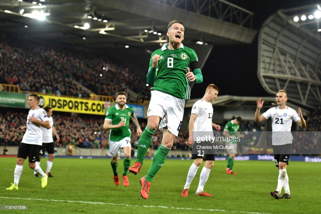 Northern Ireland v Estonia - UEFA EURO 2020 Qualifier : News Photo