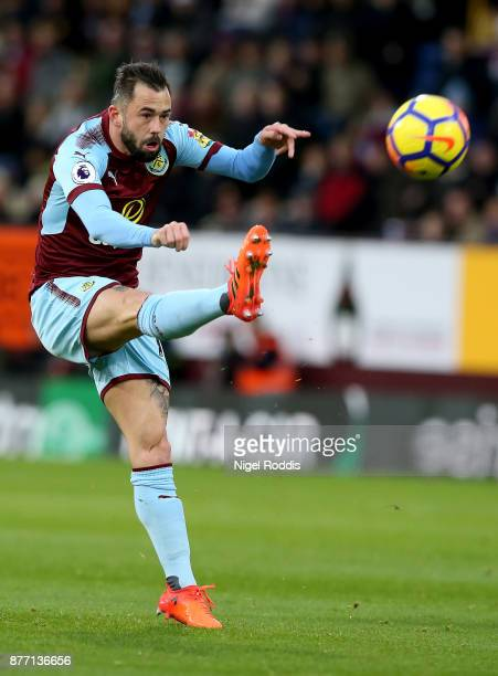 Steven Defour of Burnley during the Premier League match between Burnley and Swansea City at Turf Moor on November 18 2017 in Burnley England