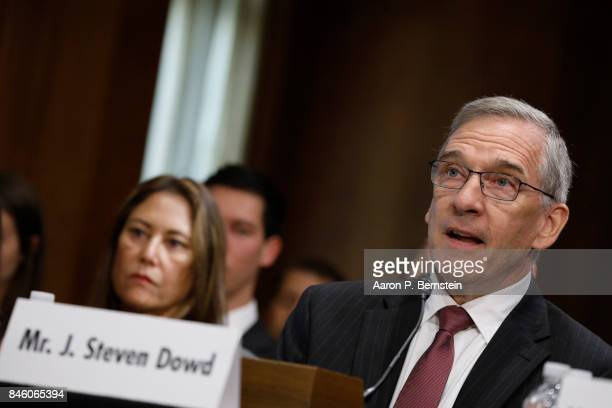 J Steven Down nominee to be United State Director of the African Development Bank testifies before the Senate Foreign Relations Committee on Capitol...