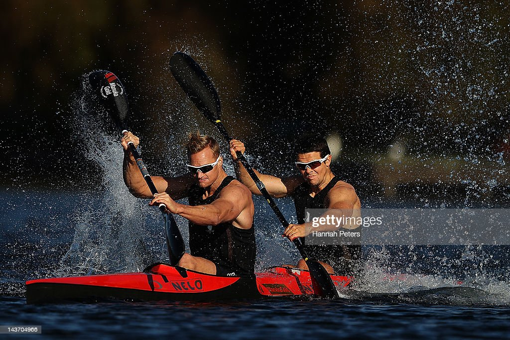 New Zealand Canoe Olympic Team Portrait Session