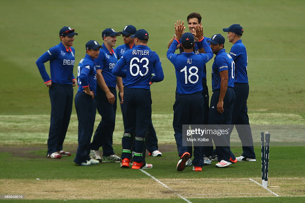 England v West Indies - ICC CWC Warm Up Match : News Photo