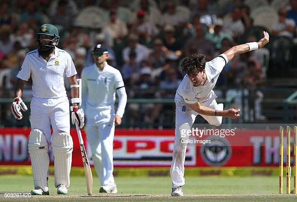 Steven Finn of England during day 2 of the 2nd Test match between South Africa and England at PPC Newlands on January 03 2016 in Cape Town South...