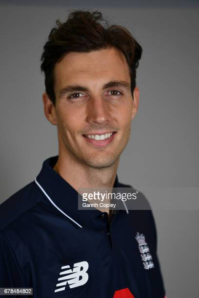 Steven Finn of England poses for a portrait at The Brightside Ground on May 4 2017 in Bristol England