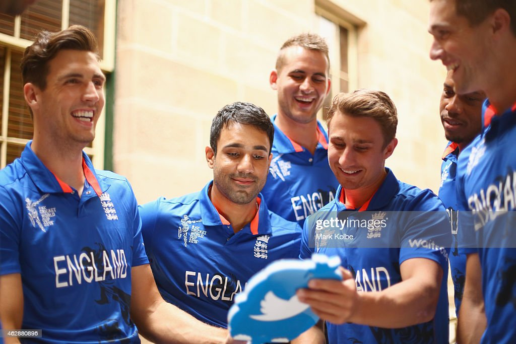 England Media & Training Session : News Photo