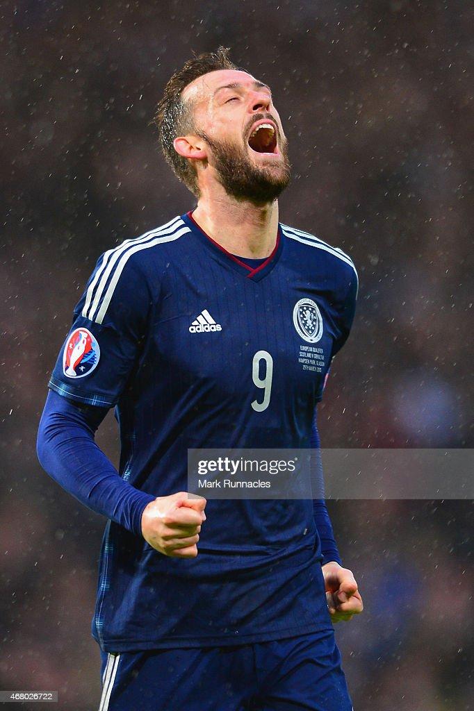 Scotland v Gibraltar - EURO 2016 Qualifier : News Photo