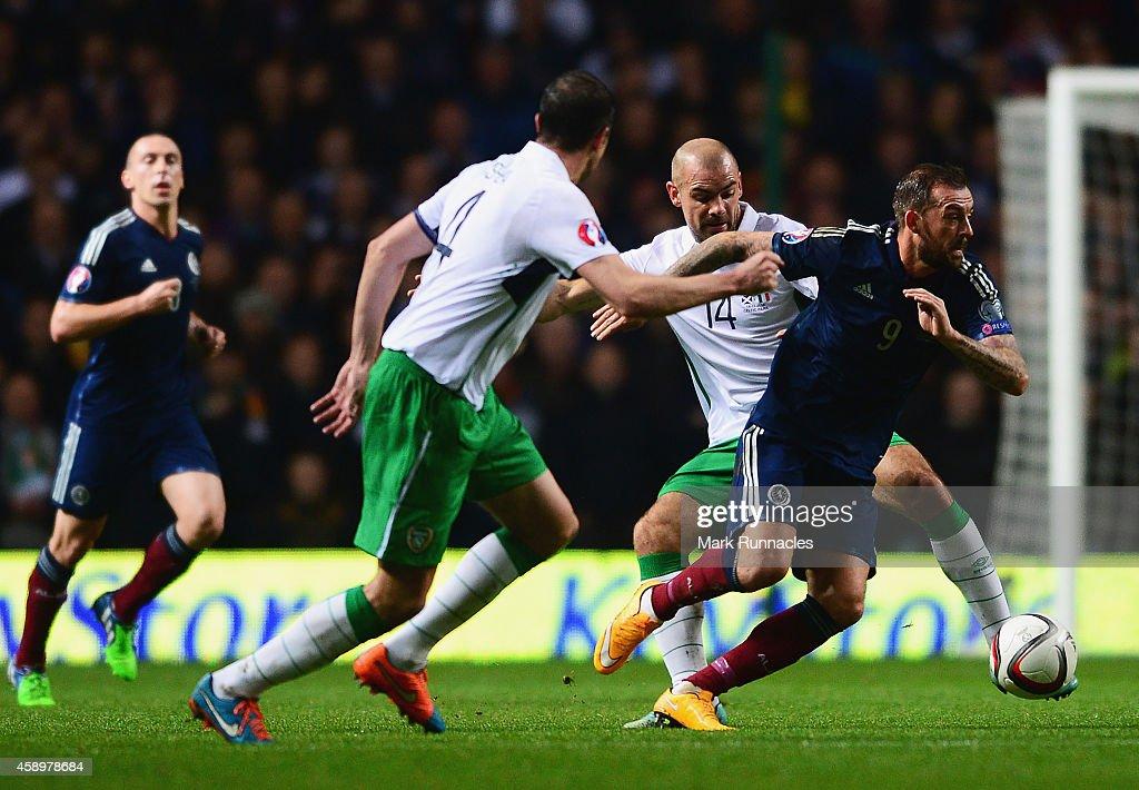 Scotland v Republic of Ireland - EURO 2016 Qualifier : News Photo