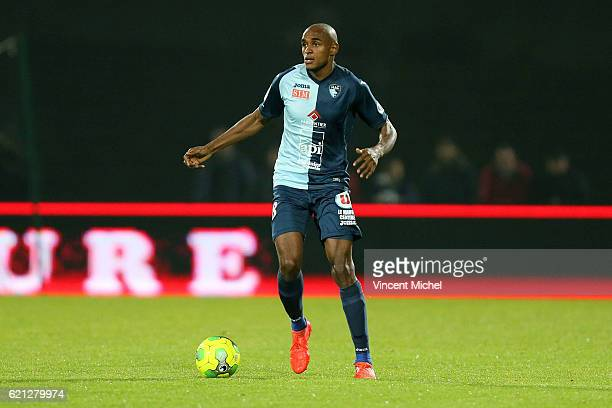 Steven Fortes of Le Havre during the Ligue 2 match between Stade Lavallois and Le Havre AC on November 4 2016 in Laval France