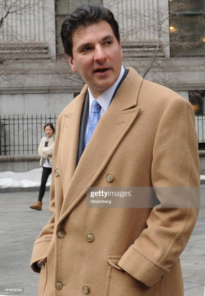 Steven Fortuna, co-founder and former managing director at S2 Capital LLC in Boston, leaves federal court following his sentencing in New York, U.S., on Wednesday, Feb. 13, 2013. Fortuna, a hedge-fund manager who pleaded guilty and assisted in the insider-trading probe of Galleon Group LLC and other federal investigations, was sentenced to two years' probation and six months' home confinement. Photographer: Louis Lanzano/Bloomberg via Getty Images