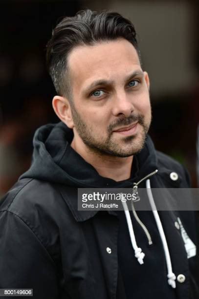 Steven Frayne commonly known as the English magician 'Dynamo' attends Glastonbury Festival on June 23 2017 in Glastonbury England