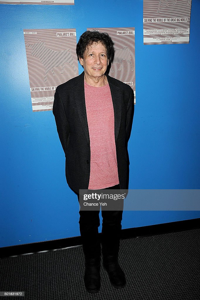 Steven Friedman attends 'Phalaris's Bull: Solving The Riddle Of The Great Big World' opening night at Beckett Theatre on December 17, 2015 in New York City.
