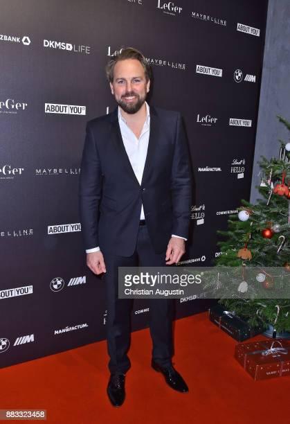 Steven Gaetjen attends the Christmas Dinner Party of Lena Gercke at the Bar Hygge on November 30 2017 in Hamburg Germany