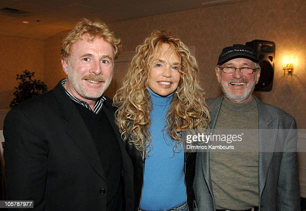 Steven Gaines, Dyan Cannon and Norman Jewison during 13th Annual Hamptons International Film Festival - Icons In The Making - Panel at Southampton...
