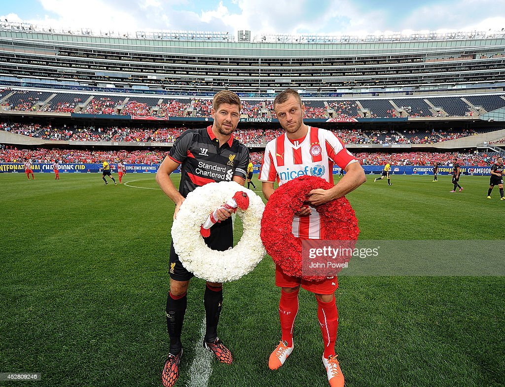 International Champions Cup 2014 - Liverpool v Olympiacos