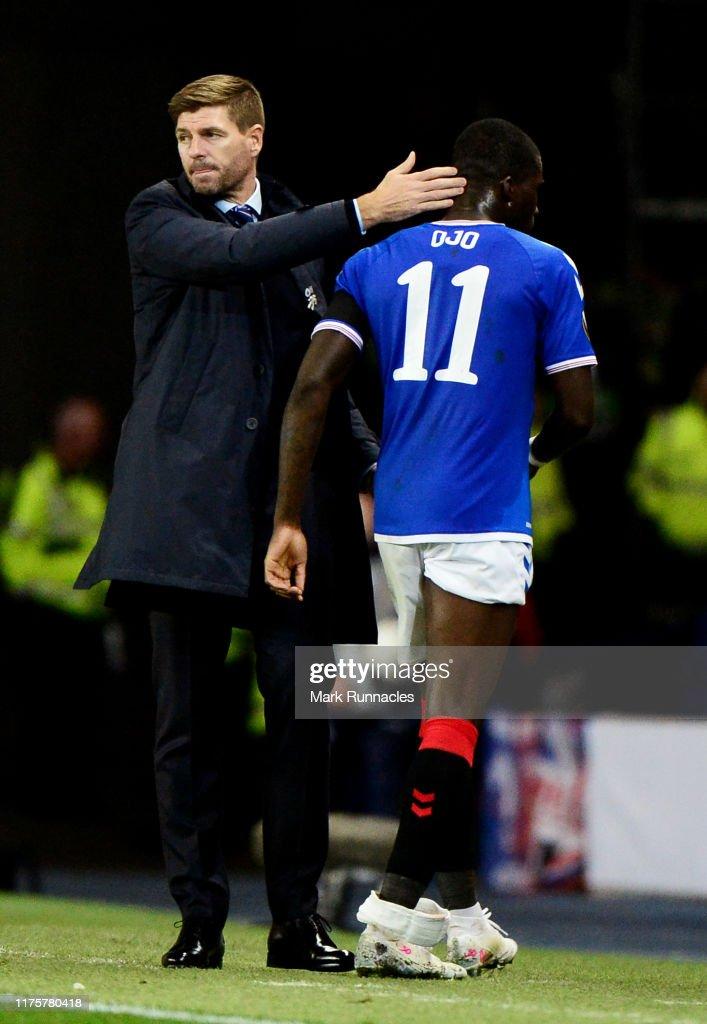 Rangers FC v Feyenoord: Group G - UEFA Europa League : News Photo