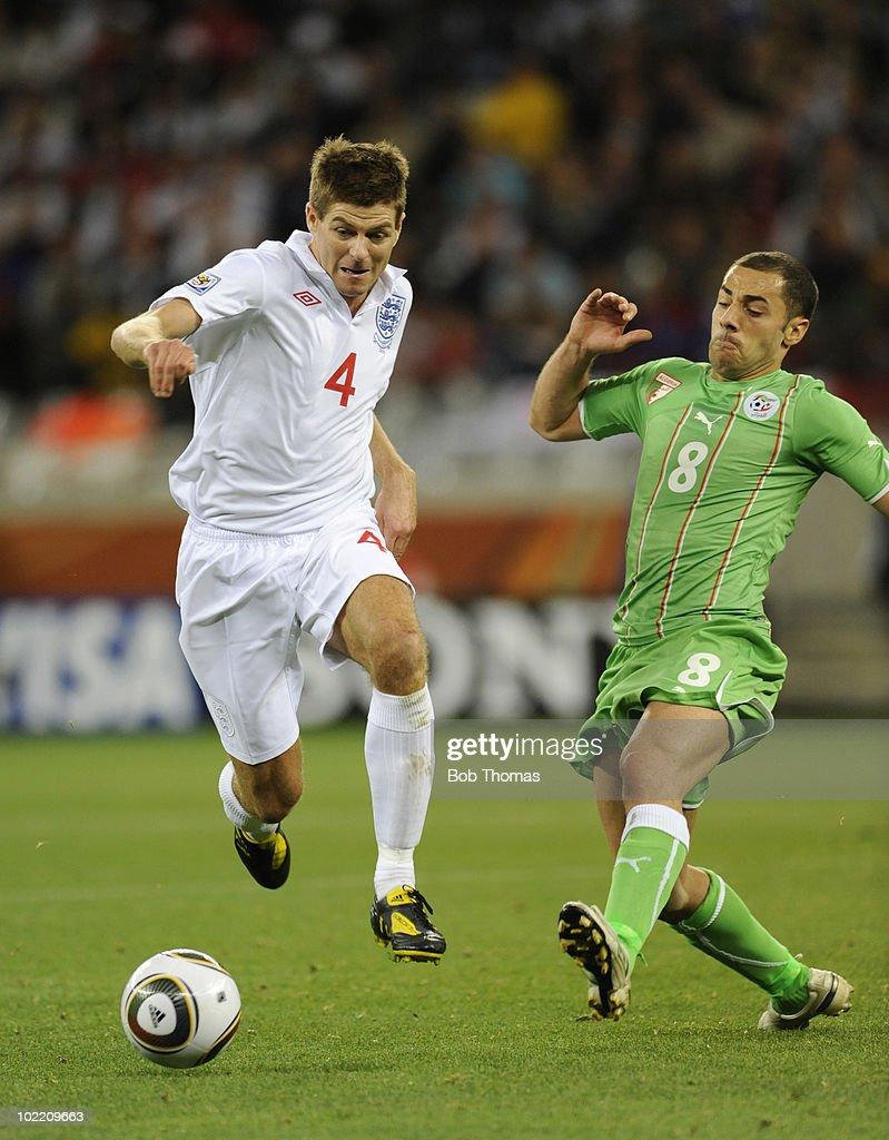 England v Algeria: Group C - 2010 FIFA World Cup : News Photo