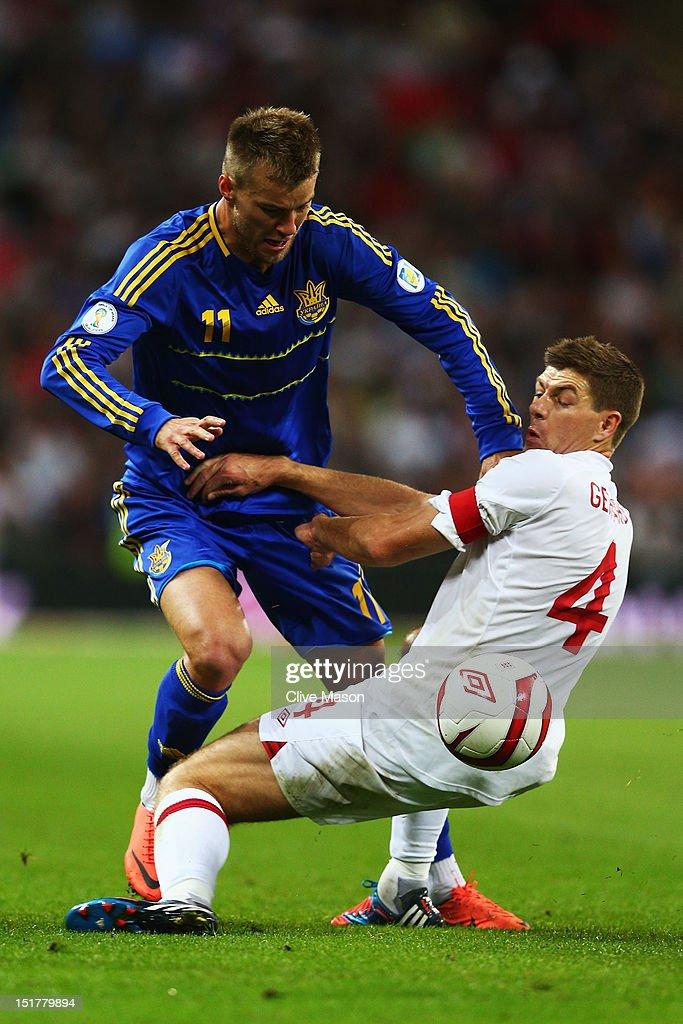 England v Ukraine - FIFA 2014 World Cup Qualifier