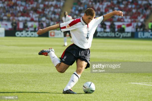 Steven GERRARD of England during the European Championship match between England and Switzerland at Estadio Cidade de Coimbra, Coimbra, Portugal on...