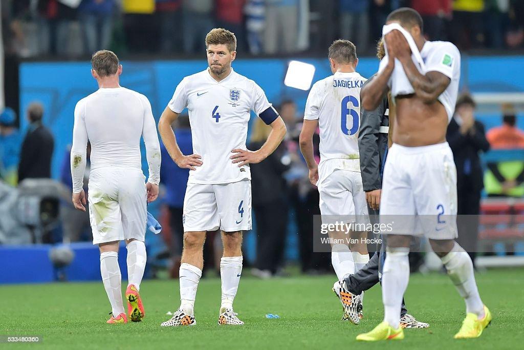 Uruguay v England - FIFA 2014 World Cup - Group D : News Photo