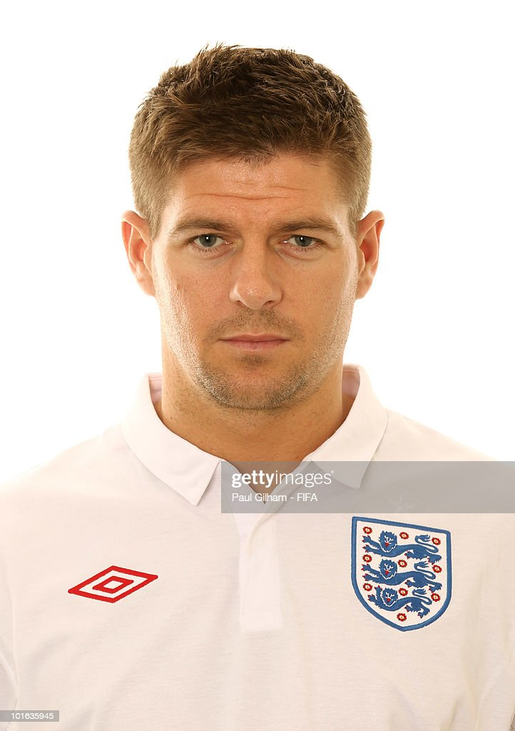 Steven Gerrard of England poses during the official FIFA World Cup 2010 portrait session on June 4, 2010 in Rustenburg, South Africa.