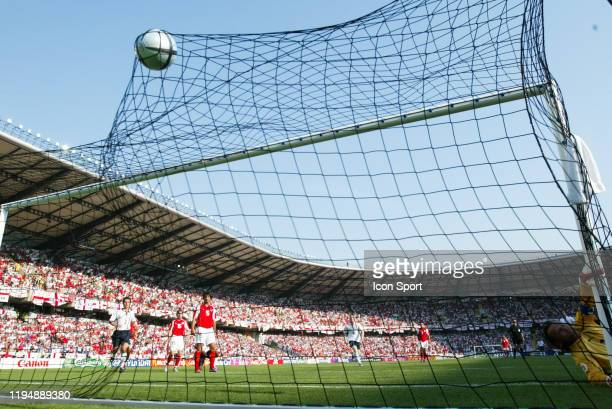 Steven GERRARD of England scores a goal during the European Championship match between England and Switzerland at Estadio Cidade de Coimbra, Coimbra,...