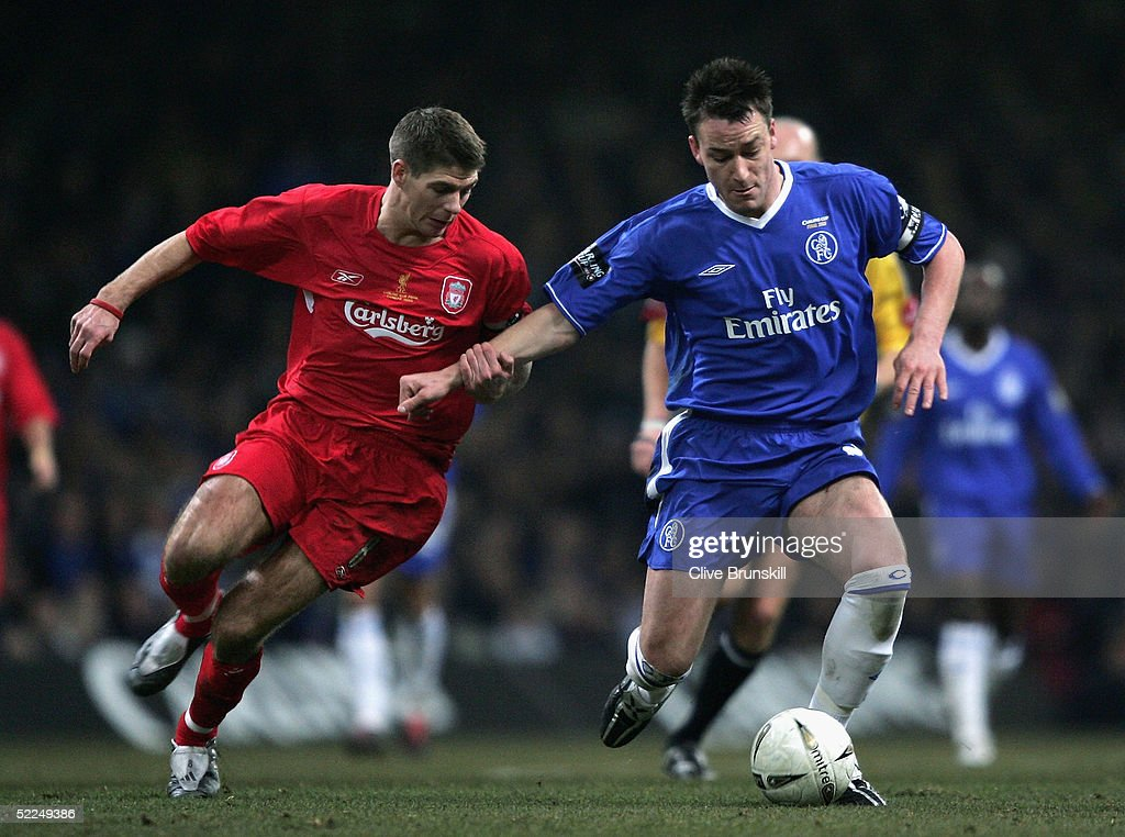 Carling Cup Final - Chelsea v Liverpool : News Photo