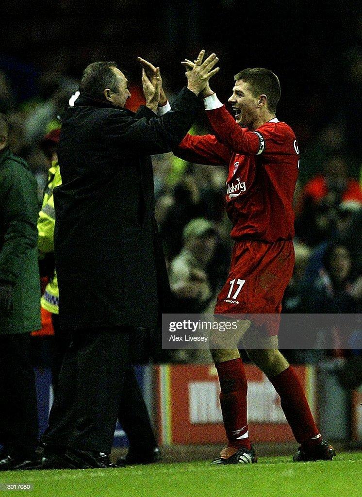 Liverpool v Levski Sofia : News Photo