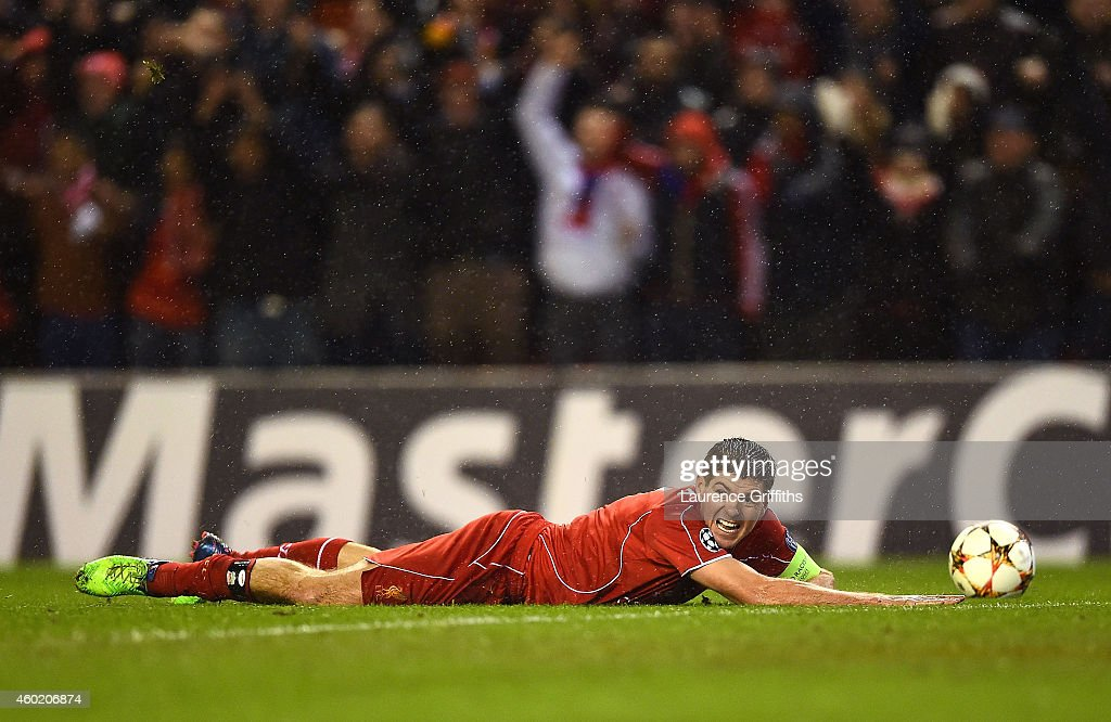 Liverpool FC v FC Basel 1893 - UEFA Champions League : News Photo
