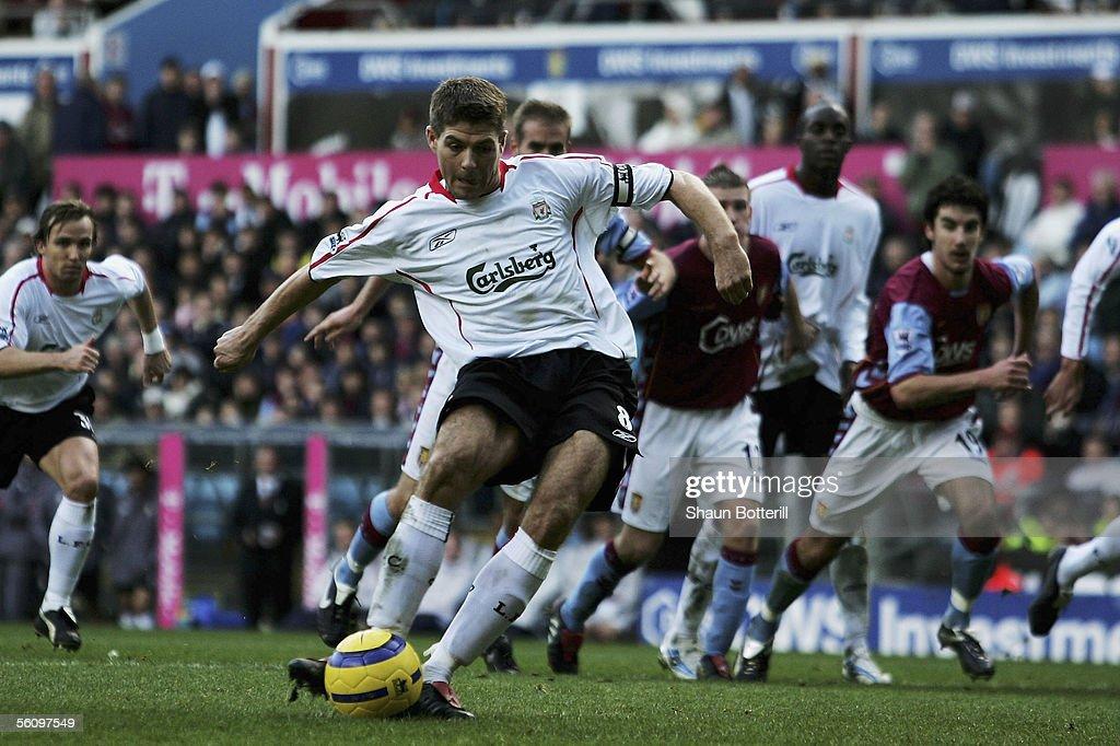 Aston Villa v Liverpool : News Photo