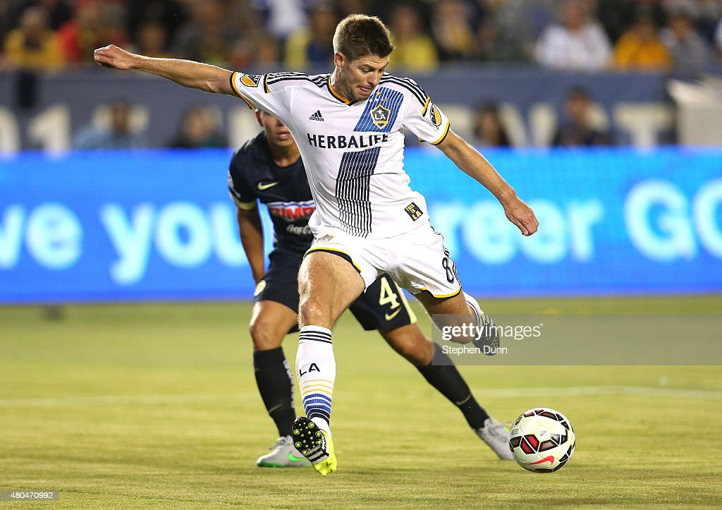 International Champions Cup 2015 - Club America v Los Angeles Galaxy : News Photo