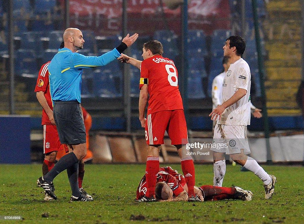 Unirea Urziceni v Liverpool - UEFA Europa League