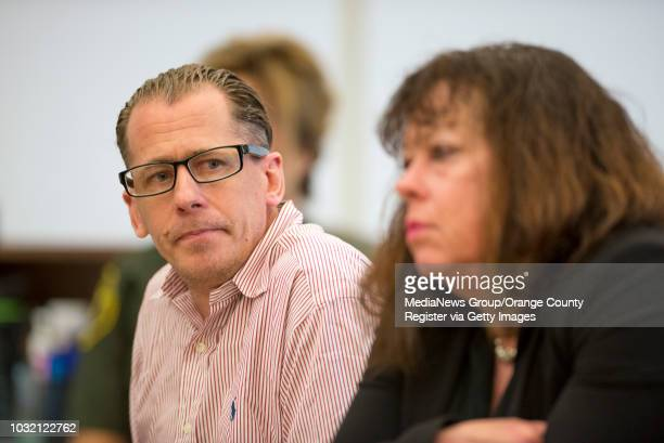 Steven Gordon during his sentencing in the murders of Kianna Jackson 20 Josephine Vargas 34 Martha Anaya 28 and Jarrae Estepp in Santa Ana California...